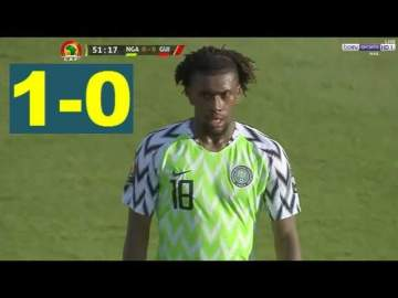 Video: Nigeria 1 - 0 Guinea (June-26-2019) Africa Cup of Nations Highlights