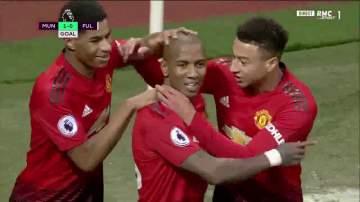 Video: Manchester United 4 - 1 Fulham (Dec-08-2018) Premier League Highlights