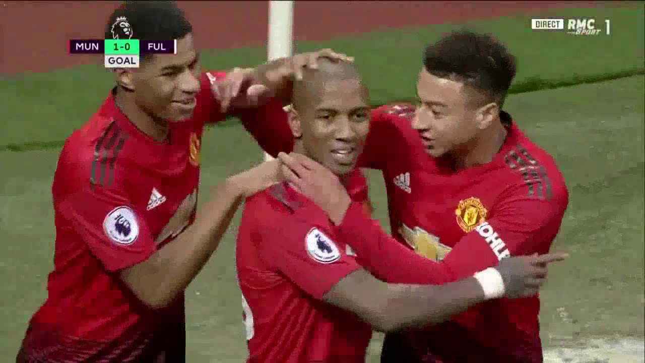 Manchester United 4 - 1 Fulham (Dec-08-2018) Premier League Highlights