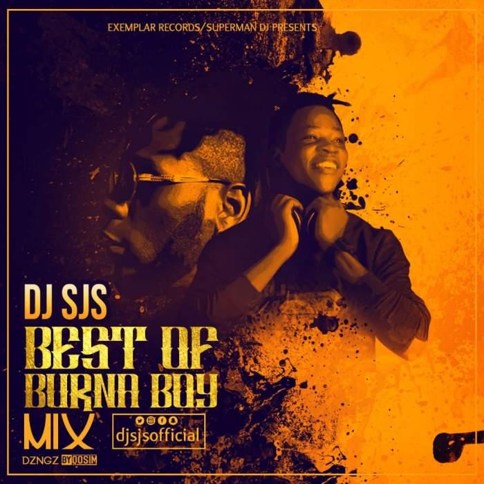 DJ SJS - Best of Burna Boy Mix