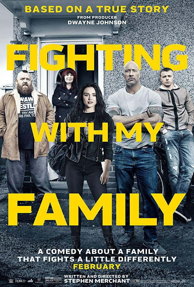 MOVIE :Fighting with My Family 2019