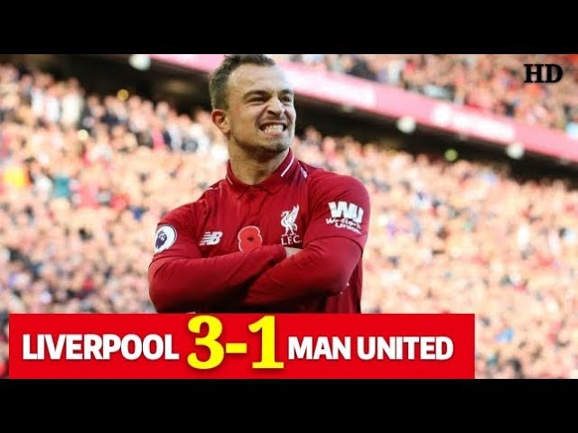 Liverpool 3 - 1 Manchester United (Dec-16-2018) Premier League Highlights