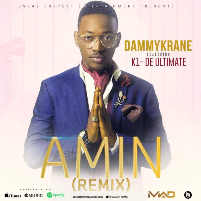 Dammy Krane - Amin (Remix) (feat. Kwam 1)