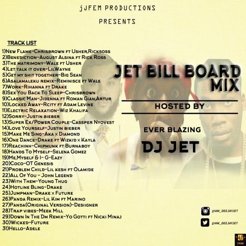 DJ Jet - Billboard Mix (Vol. 1)