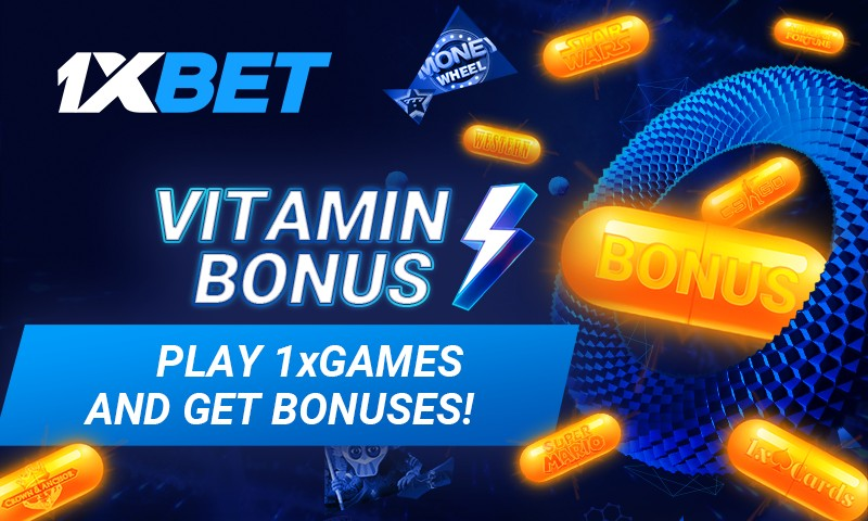 Win Exciting Bonuses with the Vitamin Promo at 1xBet