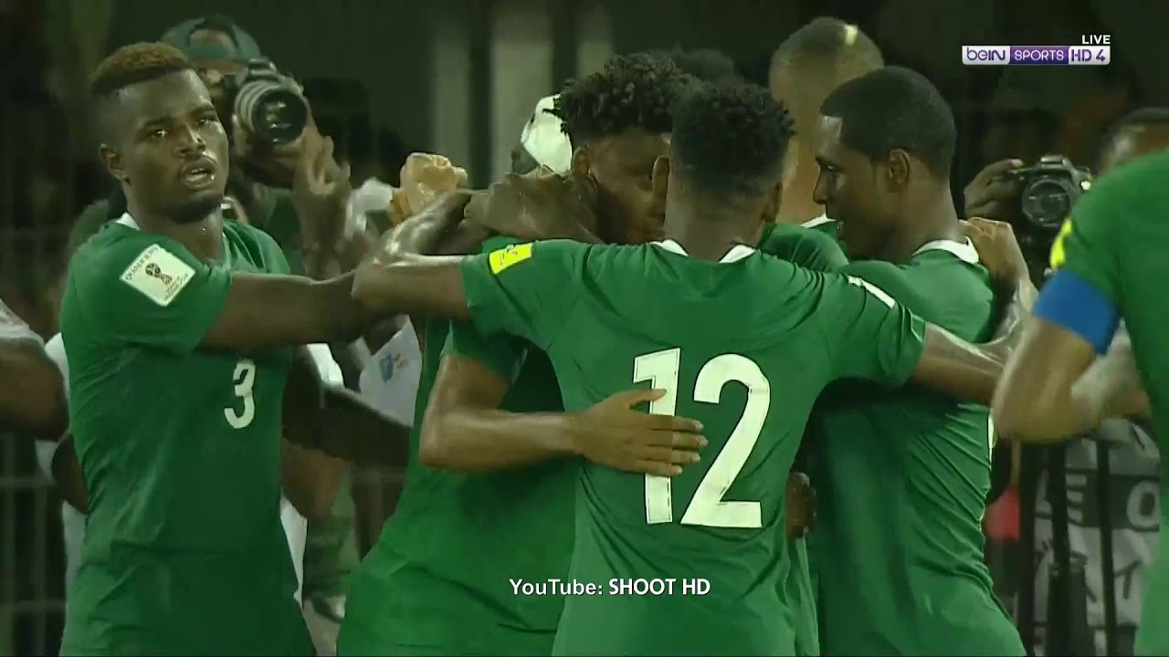Nigeria 1 - 0 Zambia (Oct-7-2017) FIFA World Cup Qualifier Highlights
