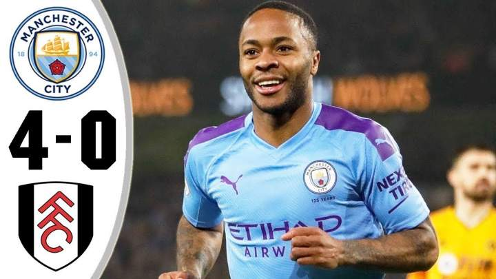 Manchester City 4 - 0 Fulham (Jan-25-2020) FA Cup Highlights