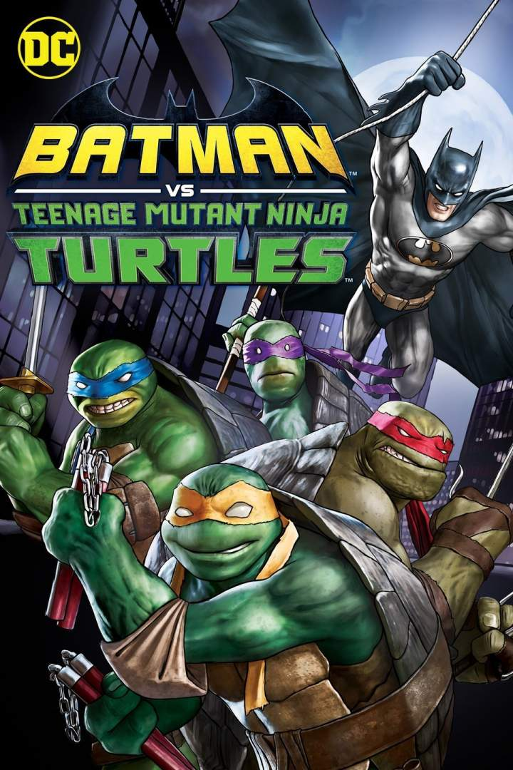FRESH MOVIE :Batman vs. Teenage Mutant Ninja Turtles (2019)