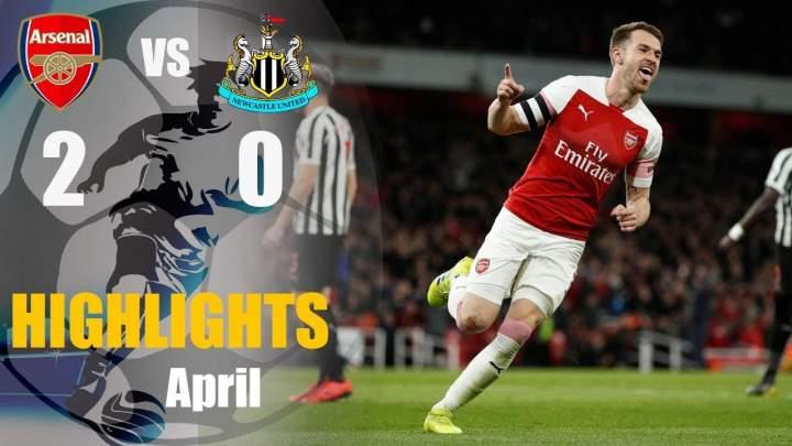 Arsenal 2 - 0 Newcastle United (1-Aug-2019) Premier League Highlights