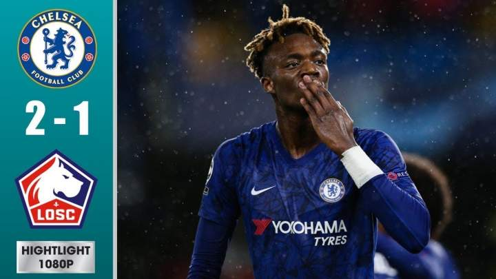 Chelsea 2 - 1 Lille (Dec-10-2019) UEFA Champions League Highlights