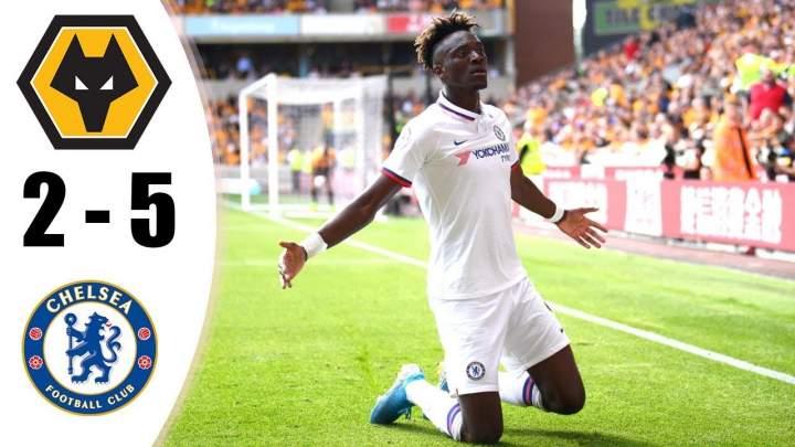 Wolves 2 - 5 Chelsea (Sat-14-2019) Premier League Highlights