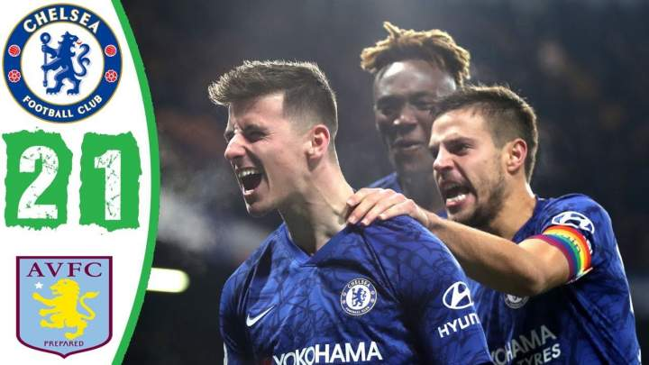 Chelsea 2 - 1 Aston Villa (Dec-04-2019) Premier League Highlights