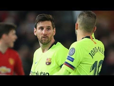Manchester United 0 - 1 Barcelona (10-APR-2019) Champions League Highlights