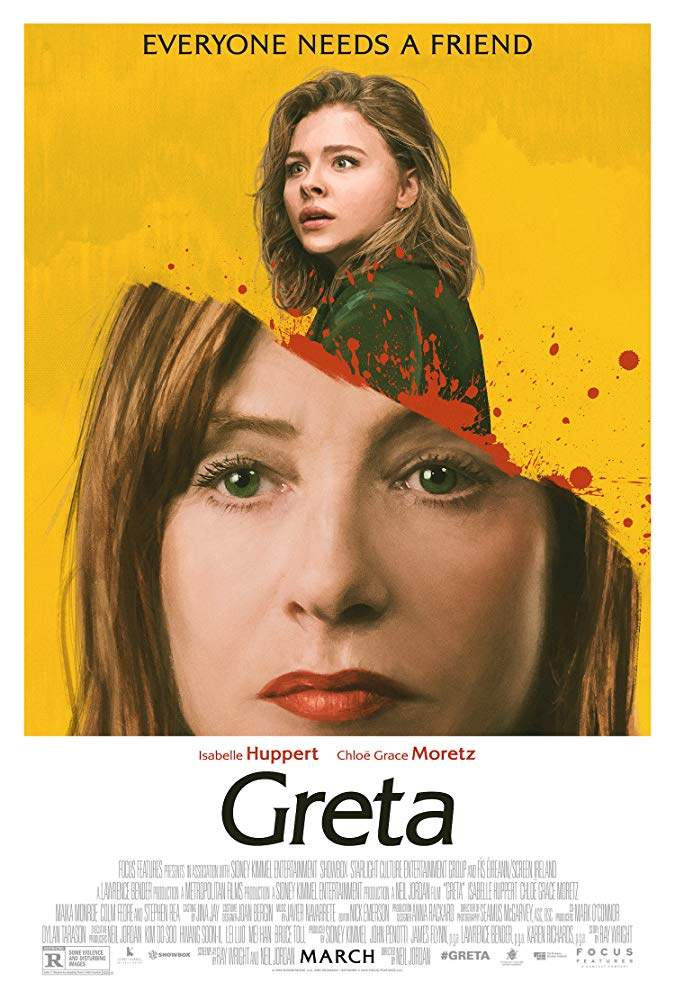 FRESH MOVIE :Greta (2018)