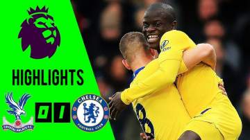 Video: Crystal Palace 0 - 1 Chelsea (Dec-30-2018) Premier League Highlights
