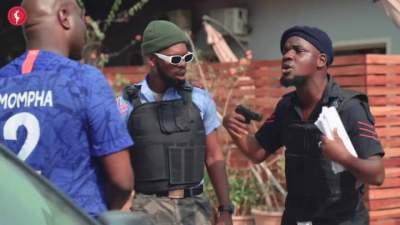 Comedy Skit: Broda Shaggi - Mompha Re-Arrested by Nigerian Police