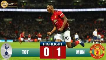 Video: Tottenham Hotspur 0 - 1 Manchester United (Jan-13-2019) Premier League Highlights