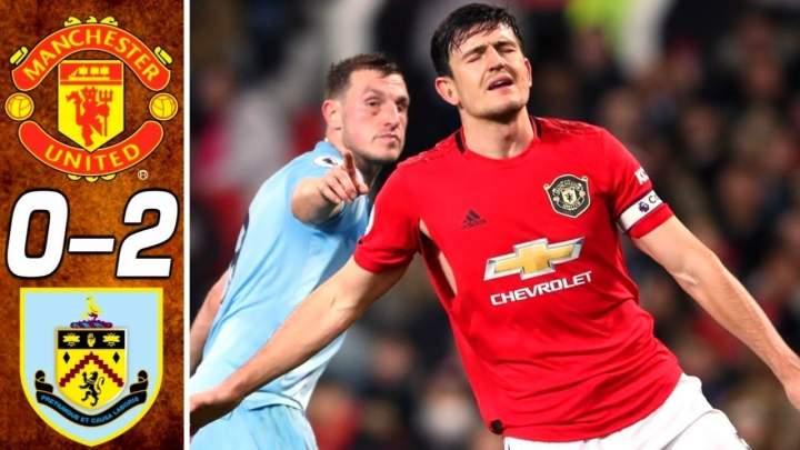 Manchester Utd 0 - 2 Burnley (Jan-23-2020) Premier League Highlights