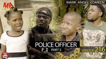 Comedy Skit: Mark Angel Comedy - Episode 216 (Police Officer Part 5)