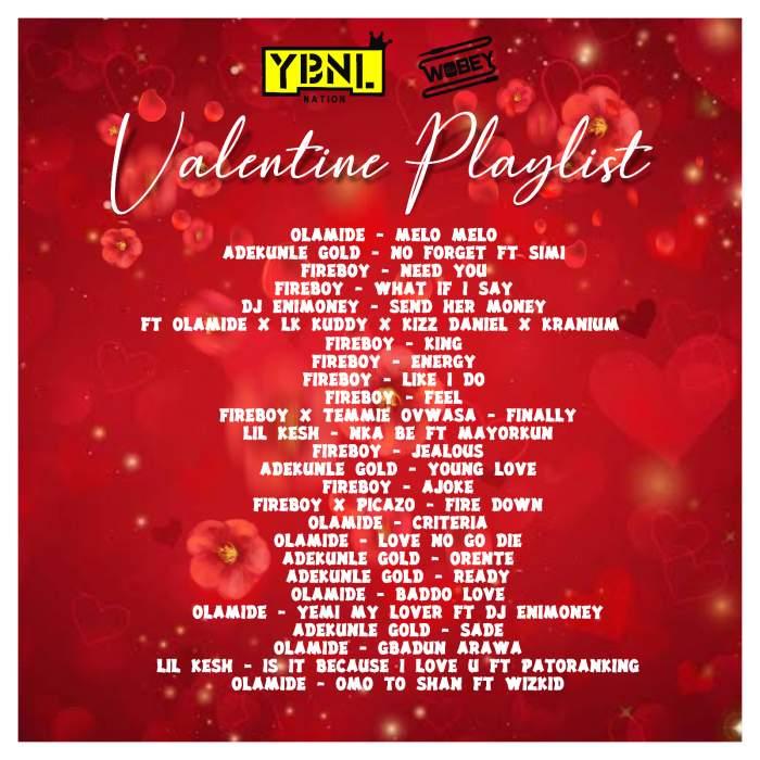 DJ Enimoney - Valentine's Playlist Mix