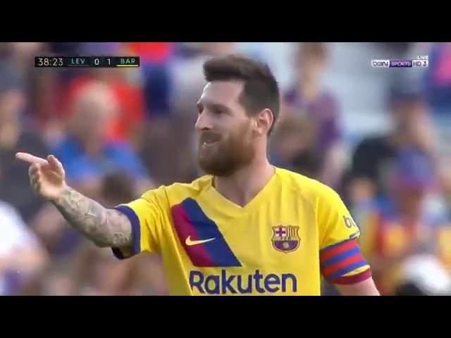 Levante 3 - 1 Barcelona (Nov-02-2019) La Liga Highlights