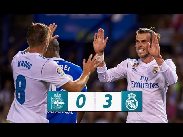 Deportivo La Coruna 0 - 3 Real Madrid (Aug-20-2017) La Liga Highlights