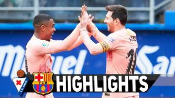 Video: Eibar 2 - 2 Barcelona (19-MAY-2019) La Liga Highlights