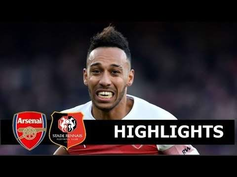 Arsenal 3 - 0 Rennes (Mar-14-2019) Europa League Highlights