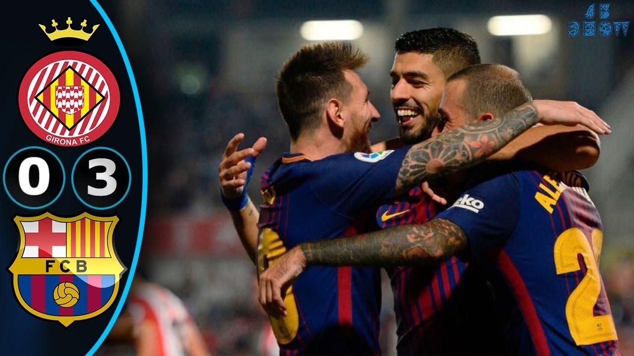 Girona 0 - 3 Barcelona (Sep-23-2017) La Liga Highlights