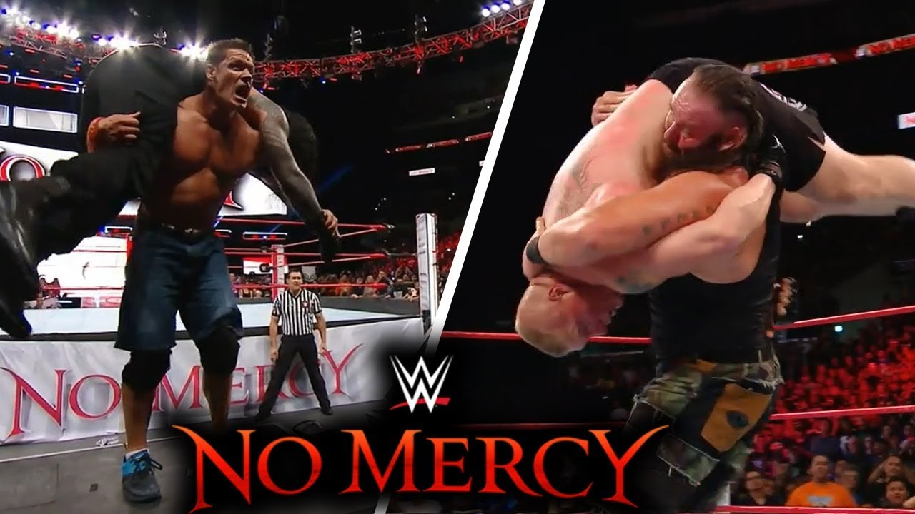 WWE No Mercy (Sep-24-2017) Highlights