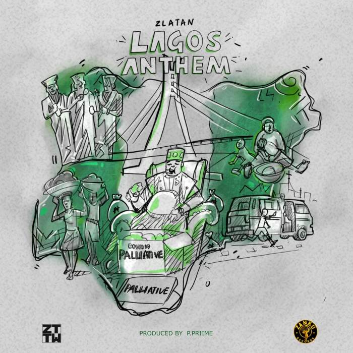 Zlatan - Lagos Anthem (Money No Dey Lagos)