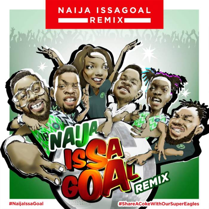 Naira Marley, Falz, Olamide, Simi, Lil Kesh & Slimcase - IssAGoal (Remix)