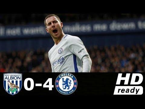 West Brom 0 - 4 Chelsea (Nov-18-2017) Premier League Highlights