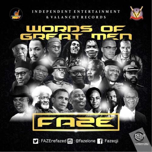 Faze - Word of Great Men