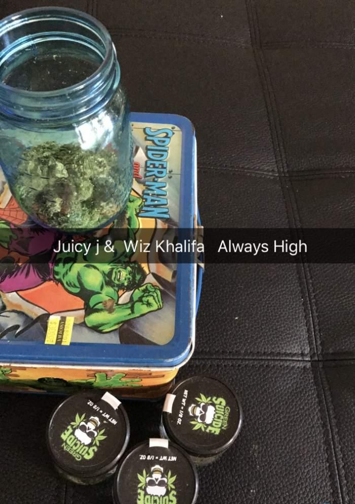Juicy J & Wiz Khalifa - Always High