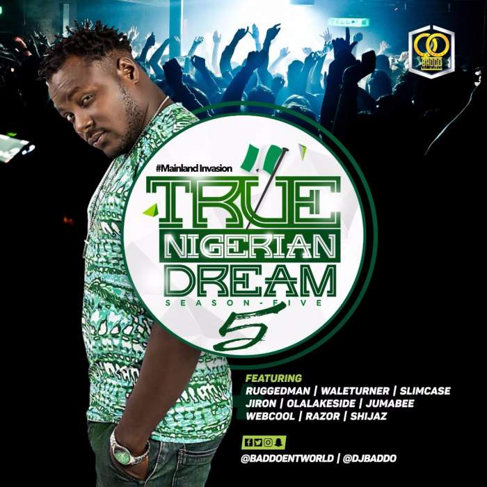 DJ Baddo - True Nigerian Dream Mix (Vol. 5)