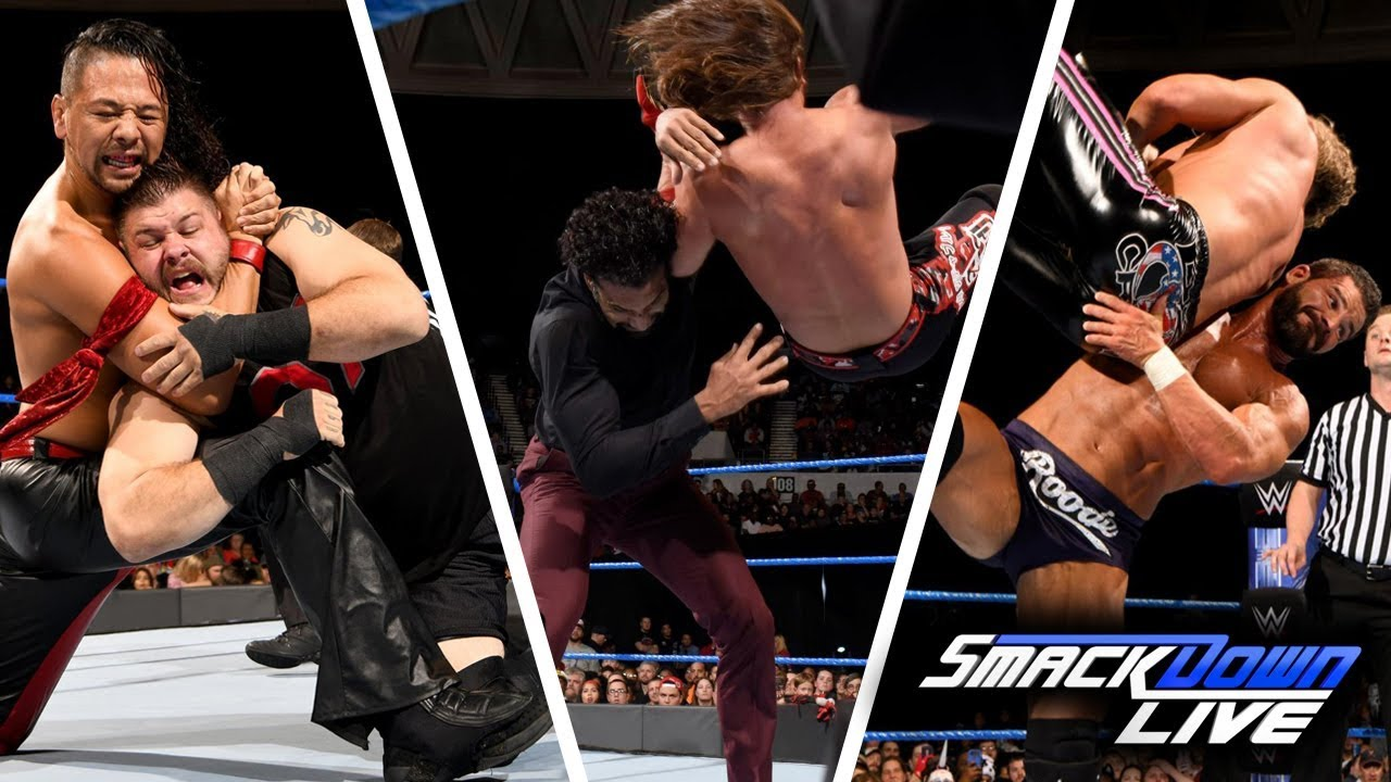 WWE SmackDown Live (Oct-31-2017) Highlights