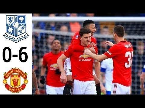 Tranmere 0 - 6 Manchester Utd (Jan-25-2020) FA Cup Highlights