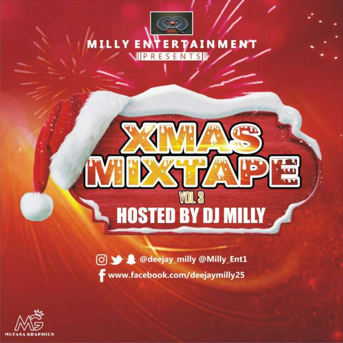 DJ Milly - Xmas Mixtape (Vol. 3)