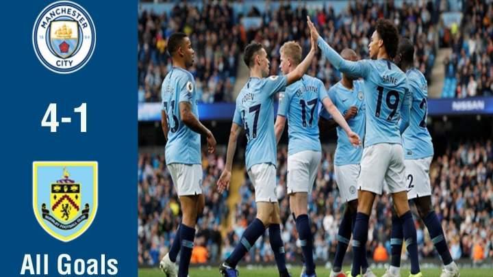 Burnley 1 - 4 Manchester City (Dec-03-2019) Premier League Highlights