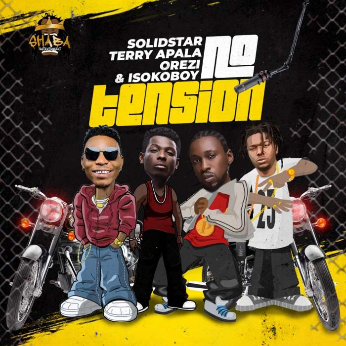 Solidstar - No Tension (feat. Terry Apala, Orezi & Isoko Boy)