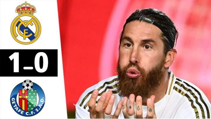 Real Madrid 1 - 0 Getafe (Jul-02-2020) LaLiga Highlights