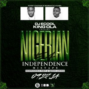 DJ ECool & King Ola - Nigerian Independence Party Mix 54 (2014)