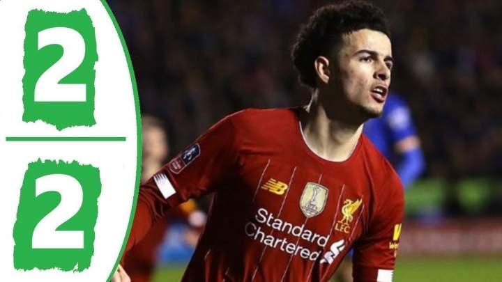 Shrewsbury 2 - 2 Liverpool (Jan-25-2020) FA Cup Highlights