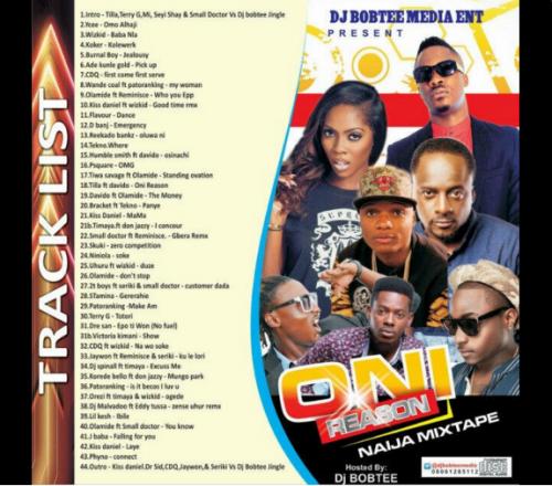 DJ Bobtee - Oni Reason Naija Mix