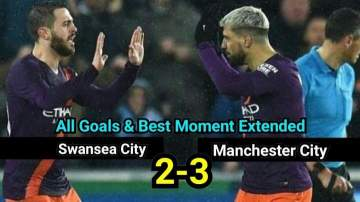 Video: Swansea 2 - 3 Manchester City (Mar-16-2019) FA Cup Highlights