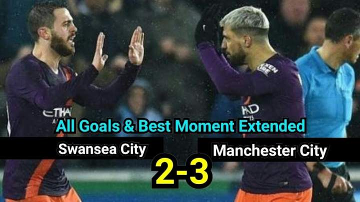 Swansea 2 - 3 Manchester City (Mar-16-2019) FA Cup Highlights