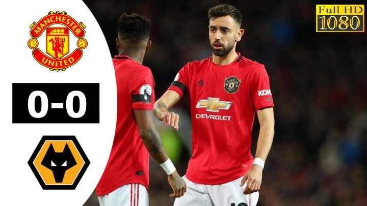 Manchester Utd 0 - 0 Wolves (Feb-01-2020) Premier League Highlights