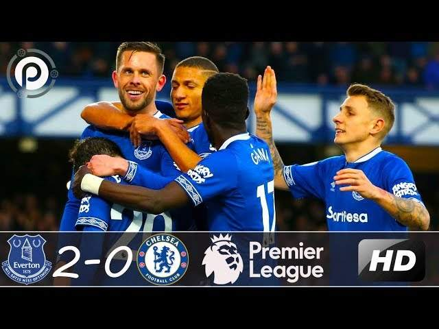 Everton 2 - 0 Chelsea (Mar-17-2019) Premier League Highlights