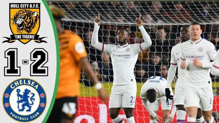 Hull 1 - 2 Chelsea (Jan-25-2020) FA Cup Highlights